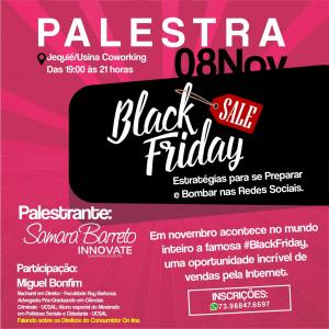 SUPER PALESTRA:*Black Friday